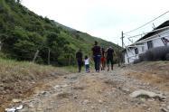 Traslado de excombatientes del ETCR Santa Lucía hacia Mutatá