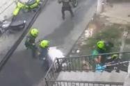 """47 capturas, dos asonadas y cuatro """"rumbas"""" intervenidas: Balance de la indisciplina en Medellín"""