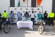 Los detenidos harían parte del Clan del Golfo.