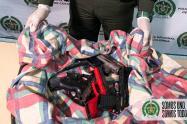 Armas de gran poder y abundante munición guardan los combos de Medellín