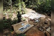 Con este material detonante se iban a fabricar más de 2600 minas antipersonales.
