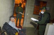 Jefe criminal invitaba a su casa a sus víctimas para extorsionarlas en Itagüí