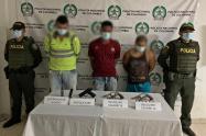 Estas personas llevaban cerca de un mes amenazando y extorsionando a la ciudadanía de este municipio del nordeste del departamento.