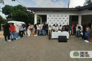 Cogieron a 25 jóvenes en tremenda rumba en el barrio Florencia de Medellín