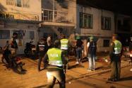La policía intervino fiestas  en Medellín