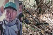 Nevardo Bailarín Cuñapa, indígena víctima de mina antipersonal en Antioquia