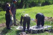 Este cuerpo fue hallado por las autoridades en zona rural de San Cristóbal.