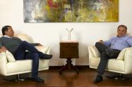 Gustavo Petro y Roy Barreras