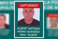"""Cayó alias Alber, uno de los más buscados de Bello y presunto jefe  de """"Pachelly"""""""