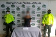 """Capturan a una """"rosario tijeras"""" comprometida en el homicidio de un menor en Antioquia"""