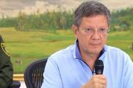 Luis Fernando Suárez Vélez, gobernador (e) de Antioquia.