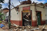 Emergencia en Ciudad Bolívar, Antioquia, el colapsó de una cubierta dejó cinco lesionados