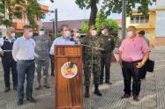 Consejo de seguridad en Zaragoza, Antioquia