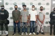 Capturan en Medellín supuestos extorsionistas que exigían 400 mil pesos