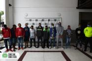 Los detenidos serían integrantes del grupo delincuencial Guasimalito