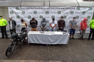 Los detenidos se dedicaban al tráfico local de estupefacientes en el oriente del departamento.