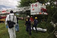 El cuerpo no presentaba signos de violencia, revelaron las autoridades.