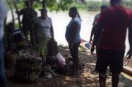 Las familias de la vereda Isla Amargura huyeron por las amenazas de los grupos armados.