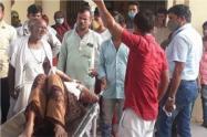 Mujer atacada en la India