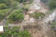 Fuertes lluvias en Huila