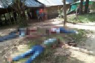 Confirman masacre de cinco personas en Zaragoza, Antioquia