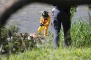 Este cuerpo llevaba por lo menos cinco días al intemperie revelaron las autoridades