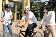 Once ciclistas han fallecido este año en las vías de la ciudad.