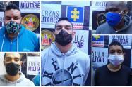 Estas personas están señaladas de homicidio, extorsión y de tráfico de estupefacientes.