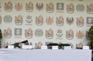 En este operativo fue abatido un presunto integrante de este grupo al margen de la ley.