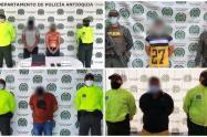 .Estas personas serían responsables de perpetrar dos homicidios en el municipio de El Bagre.