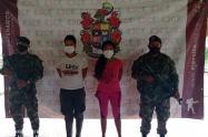 Dos presuntos integrantes de este grupo terrorista fueron capturados.
