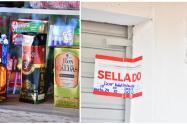 Más de cinco mil cajetillas y 51 botellas fueron incautadas.
