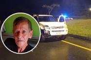Bombero vio morir a su padre en accidente de tránsito en Barbosa, Antioquia