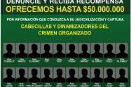 Autoridades de Medellín presentaron el cartel de los cabecillas más buscados