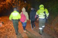 Los cogieron dormidos a nueve delincuentes de El Santuario, Antioquia