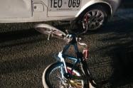 Ciclista de 16 años muere al chocar con un camión en Caldas, Antioquia