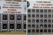 Este homenaje se realizó en en el Batallón de Infantería número 10, Coronel Atanasio Girardot, de Medellín.