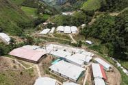 ETCR de Santa Lucía en Ituango, Norte de Antioquia.