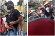 Escolta hirió a cinco personas en el centro de Medellín