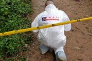 El doble crimen fue cometido este año en zona rural de este municipio del sur del Valle de Aburrá.