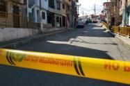 Homicidio en el barrio Manrique
