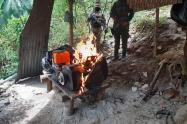 Capturan a 23 personas por minería ilegal en San Roque, Antioquia