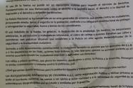 En Medellín también aparecen panfletos de las Autodefensas Gaitanistas