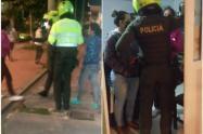 Policia amenazó con taser en la cara de una mujer, en procedimiento judicial