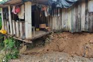 Emergencias por lluvias en Antioquia.