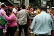 Así fue el baile en el Parque Berrío de Medellín.