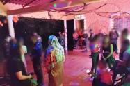 En Caucasia se intervino una fiesta clandestina.