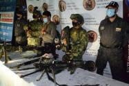 Estas personas conformarían el círculo de seguridad de alias Ramiro, principal cabecilla de este grupo armado.