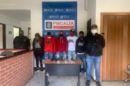 Banda de extranjeros azotaba con los hurtos y venta de droga el municipio de Rionegro