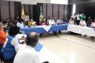 Visita de la vicepresidente a Chocó